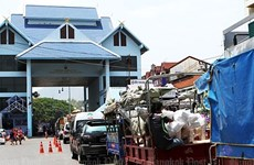 Thailand's border trade up 7.14 percent in first 7 months