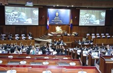 Cambodia's new National Assembly holds first session
