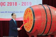 Leaders attend new school year ceremonies in localities