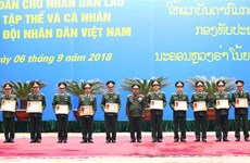 Lao State's Orders granted to VPA collectives, individuals