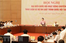 Full-time NA deputies meet to discuss bills on anti-corruption, higher education