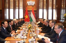 Vietnam, Hungary sign seven cooperation documents
