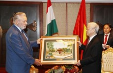 Party chief hails role of Hungary-Vietnam Friendship Association