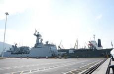 RoK's naval destroyer visit Da Nang