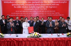 Vietnam implements biggest mining project in Laos