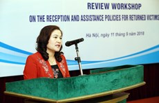 Workshop reviews assistance for returnee victims of trafficking
