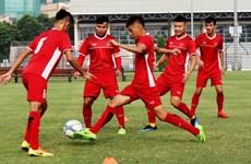 Vietnam U19s put through their paces before Qatar friendlies