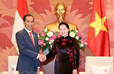 Top legislator affirms support for Vietnam-Indonesia relations