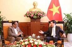 Deputy PM: Vietnam-Bangladesh ties enjoy positive development