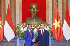 Indonesian media spotlight Joko Widodo's visit to Vietnam