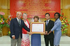 Friendship order bestowed upon East Meets West Foundation