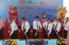 Long An has first solar power project