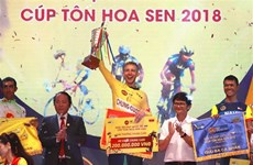 Dutch cyclist triumphs at VTV Int'l Cycling Tournament