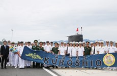 Japanese submarine Kuroshio visits Cam Ranh international port