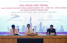 HCM City pledges to assist ICT enterprises