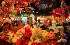 Mid-Autumn festival to begin in Hanoi's Old Quarter