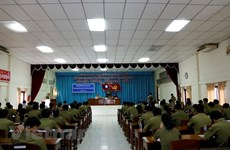 Vietnamese language class for Lao officials opens