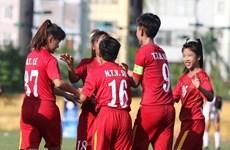 Vietnam U-16 crush Lebanon 7-0 at AFC women's champs