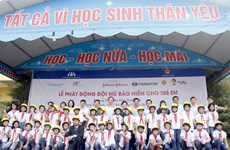 Helmets for Kids programme comes to Thai Nguyen province