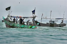 Abductors demand ransom for Indonesian fishermen