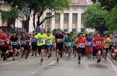 1,500 athletes to compete in 45th Ha Noi Moi Newspaper Run