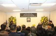 Vietnam's mission to UN opens funeral book for President Tran Dai Quang