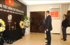 Memorial ceremonies for President Quang in Malaysia, Bangladesh
