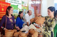 Showroom displaying Vietnamese, Lao products opened in Quang Binh