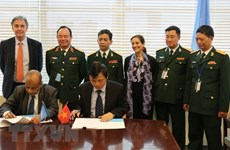 Vietnam, UN ink MoU on deployment of field hospital to South Sudan