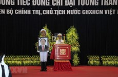 Memorial services held for President Tran Dai Quang