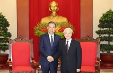 Party leader hails growing Vietnam-China relations