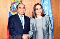 Prime Minister Nguyen Xuan Phuc meets with UN leaders