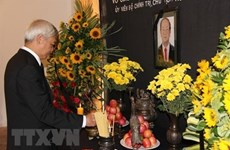 President Tran Dai Quang commemorated in Spain, Venezuela
