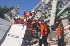 Death toll from Indonesia's quakes, tsunami exceeds 1,000