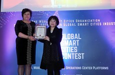 Vietnamese firm wins at Global Smart Cities Contest