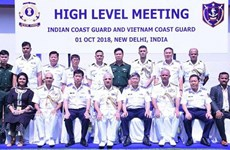Vietnam Coast Guard vessel pays first visit to India