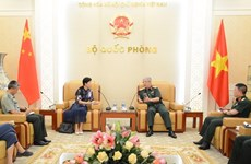 Deputy Defence Minister welcomes Chinese Charge d'affaires