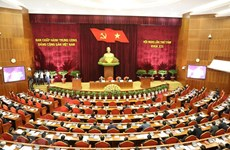 First working day of Party Central Committee's 8th plenum
