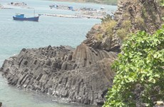 New rock formation found in Phu Yen province