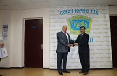 Vietnam's Ambassador to Ukraine honoured by World Jurist Alliance
