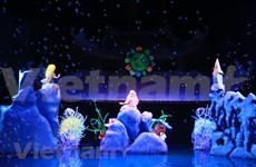 Vietnam talks about climate change at int'l puppetry festival