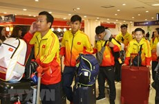 Vietnamese delegation arrives in Argentina for 2018 Youth Olympics
