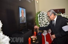 Tribute-paying ceremonies for former Party leader held abroad
