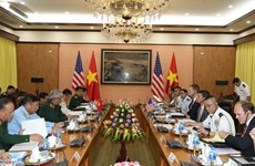 Vietnam, US hold defence policy dialogue in Hanoi