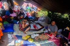 Indonesia: Int'l community continue assisting earthquake victims