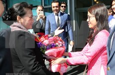 NA Chairwoman arrives in Turkey for MSEAP 3
