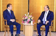 PM receives Japan-Vietnam Friendship Parliamentary Alliance Chairman