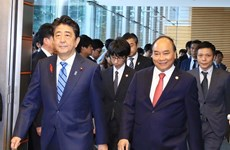 Japanese media covers talks between Vietnamese, Japanese PMs