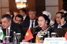 Speakers of Eurasian countries' parliaments wrap up meeting