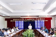 Vietnamese senior officials visit Vientiane